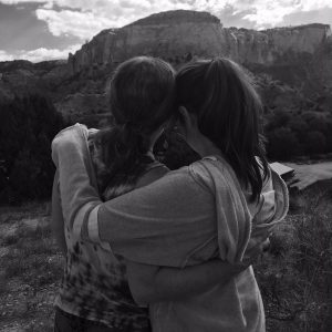 mother daughter ghost ranch heart
